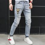 Runway Luxury famous Brand Design Jeans