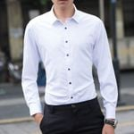 Long-sleeved Marriage Handsome Wedding Slim Fit Dress Shirts