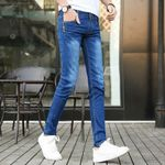 fashion Jeans Slim Pants Teenagers Students