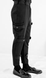 fashion model street slim plus size casual pant