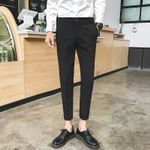 Handsome T Lin Curved Small Casual Suit Pant