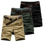Cargo Casual Military High Quality Brand Classic Beach Shorts