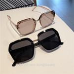 Oversized Big Frame Square Flat Top Sun Glasses