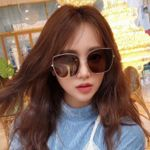 Vintage Sunglass Fashion Oversize Square Sunglasses