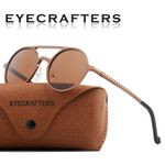 Brand Designer Steampunk Sun glasses