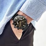Ultra Thin Business Date Dial Watch Quartz