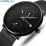 Top Luxury Brand Stylish Simple Waterproof Quartz Watch