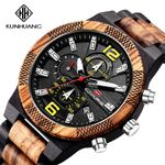New Top Brand Luxury Quartz Wood Watch