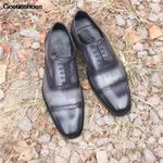 Formal Wear Business Handmade Goodyear Versatile Casual Shoes