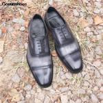 Formal Wear Business Handmade Goodyear Versatile Casual Shoes