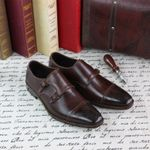 Formal Monks Monk Cow Leather Business Shoes