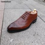 Formal Wear Business Calfskin Sole Custom-made Shoes
