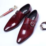 Leather Fashion Business Dress Loafers Shoes