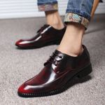Fashion Oxford low shoes Dress Shoes
