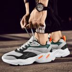 Sneakers Casual Shoes Air Mesh Chunky Shoes