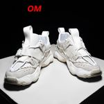 Fashion Chunky Sneakers Breathable White Casual Shoes