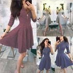 Mini Shirt Beach Sexy Elegant Casual Vintage Dresses