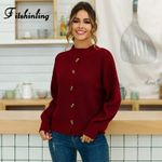 Boho Half Turtleneck Sweaters Pullovers