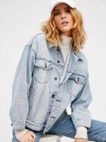 clothing fashion coats washed denim jackets