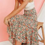 Boho Chic Sexy Floral Printed Maxi Skirt