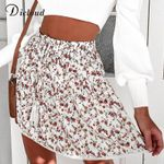 Boho High Waist Lace Skirt