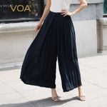 Silk Palazzo Pants Trousers Plus Size Streetwear