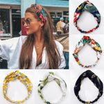 Fashion Girls Bohemian Hair Bands Print Headbands