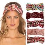 New Fashion Girl Boho Style Cotton Headband