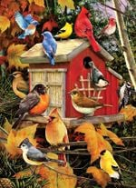 Artsyhomes [Jigsaw Puzzles] Fall Birds Jigsaw Puzzle CL30050168