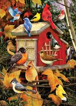 Artsyhomes [Jigsaw Puzzles] Fall Birds Jigsaw Puzzle  CL27050030