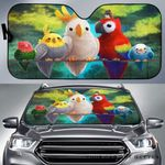 Artsyhomes [Car Sunshade] Birds  -4244