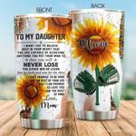 Artsyhomes [Tumbler] Softball Mom To Daughter Custom Tumbler 3184