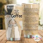 Artsyhomes [Tumbler] She Who Loves A Cup Of Coffee Tumbler 1817