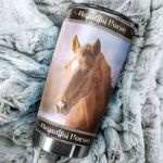 Artsyhomes [Tumbler] Beautiful Horse Stainless Steel-718