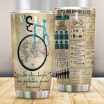 Artsyhomes [Tumbler] Life Is Like Riding A Bicycle Tumbler 2749