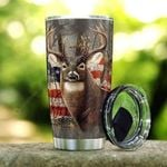Artsyhomes [Tumbler] American Whitetail Stainless Steel Tumbler 2591