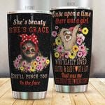 Artsyhomes [Tumbler] Blingyy Sloth  There Was A Girl Who Loved Sloth- T- MH-9719