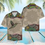 Artsyhomes [Hawaii Shirt] Hummingbird Mandala G5708