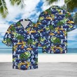 Artsyhomes [Hawaii Shirt] Tropical Hummingbird  G5709