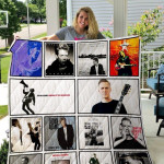 Theartsyhomes Bryan Adams 2 3D Personalized Customized Quilt Blanket ESR39