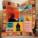 Theartsyhomes Book N3004 83o07 3D Personalized Customized Quilt Blanket ESR5