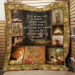 Theartsyhomes Book J1405 83o07 3D Personalized Customized Quilt Blanket ESR16
