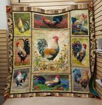 Theartsyhomes Chicken 6 3D Personalized Customized Quilt Blanket ESR13