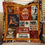 Theartsyhomes Eat sleep basketball repeat 3D Personalized Customized Quilt Blanket ESR34