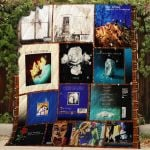 Theartsyhomes Blue October #Bjan-2 3D Personalized Customized Quilt Blanket ESR43