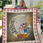 Theartsyhomes Donald And Daisy Duck 3D Personalized Customized Quilt Blanket ESR36