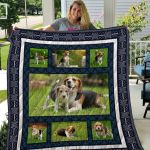 Theartsyhomes Beagle Qui25004 3D Personalized Customized Quilt Blanket ESR5