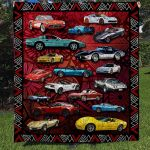 Theartsyhomes CV Car Collection Art 3D Personalized Customized Quilt Blanket ESR49