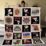 Theartsyhomes Florida Gators Fgt05 3D Personalized Customized Quilt Blanket ESR42