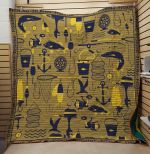 Theartsyhomes FISHING: Riddle 3D Personalized Customized Quilt Blanket ESR8